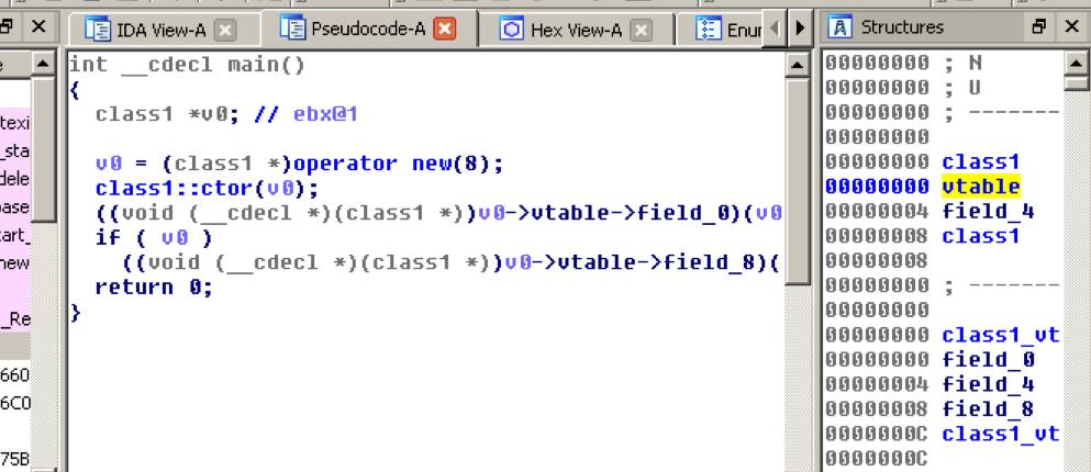 Reversing C++ programs with IDA pro and Hex-rays – Aris' Blog